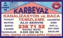KARBEYAZ BACA VE KANALİZASYON TEMİZLEME