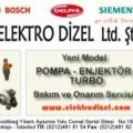 Dizel Enjektör Turbo Servisi